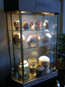 photo of display case
